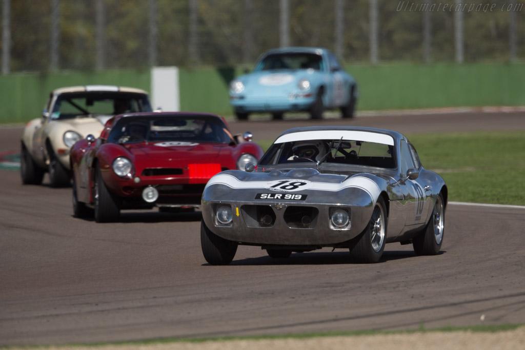 Morgan +4 SLR - Chassis: SLR4 - Driver: John Emberson / Bill Wykeham  - 2016 Imola Classic