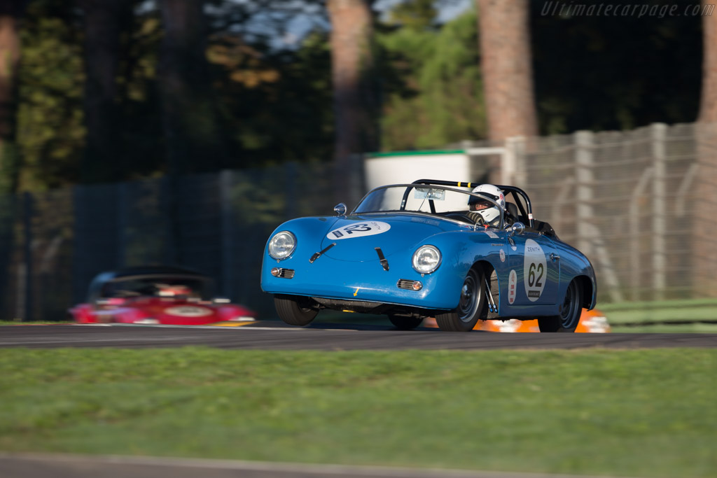 Porsche 356A Speedster - Chassis: 83839 - Driver: Jeff Moyes  - 2016 Imola Classic