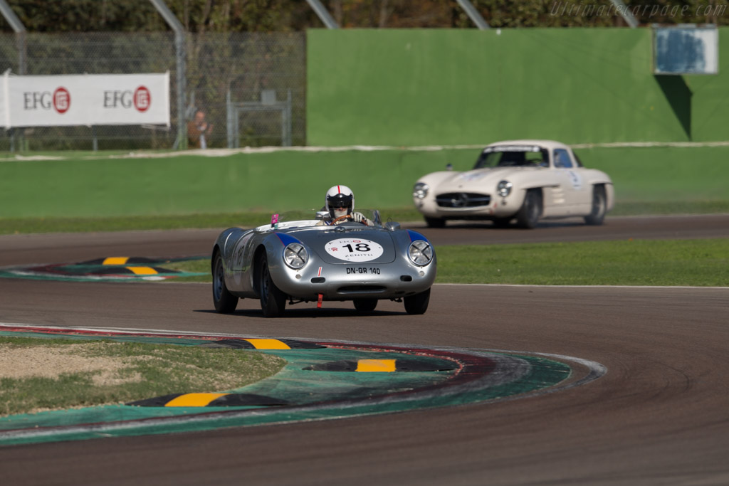 Porsche 550A - Chassis: 550A-0143 - Driver: Claudio Roddaro  - 2016 Imola Classic
