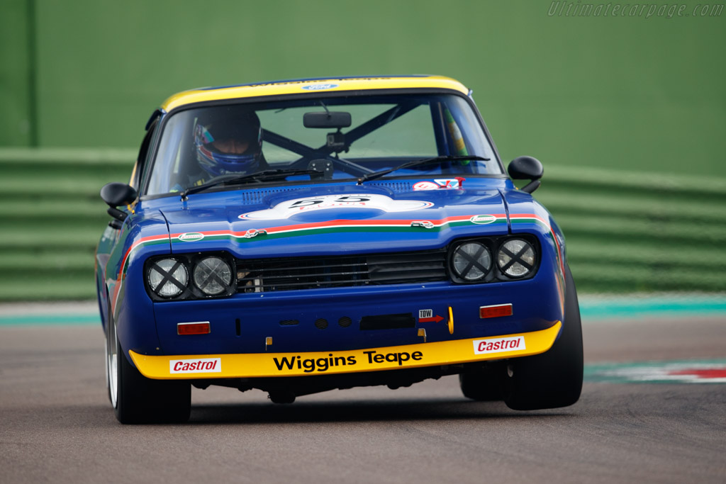 Ford Capri 2600 RS - Chassis: GCECML55327 - Driver: Grahame Bryant / Oliver Bryant - 2018 Imola Classic