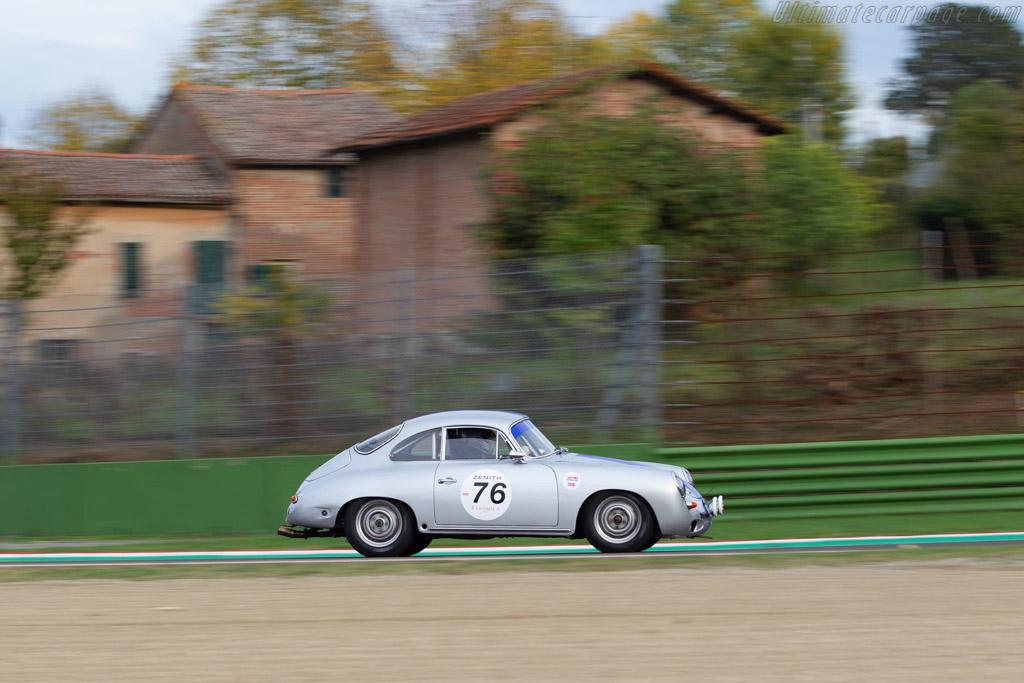 Porsche 356 C - Chassis: 126606 - Driver: Gilles Rivoallon - 2018 Imola Classic