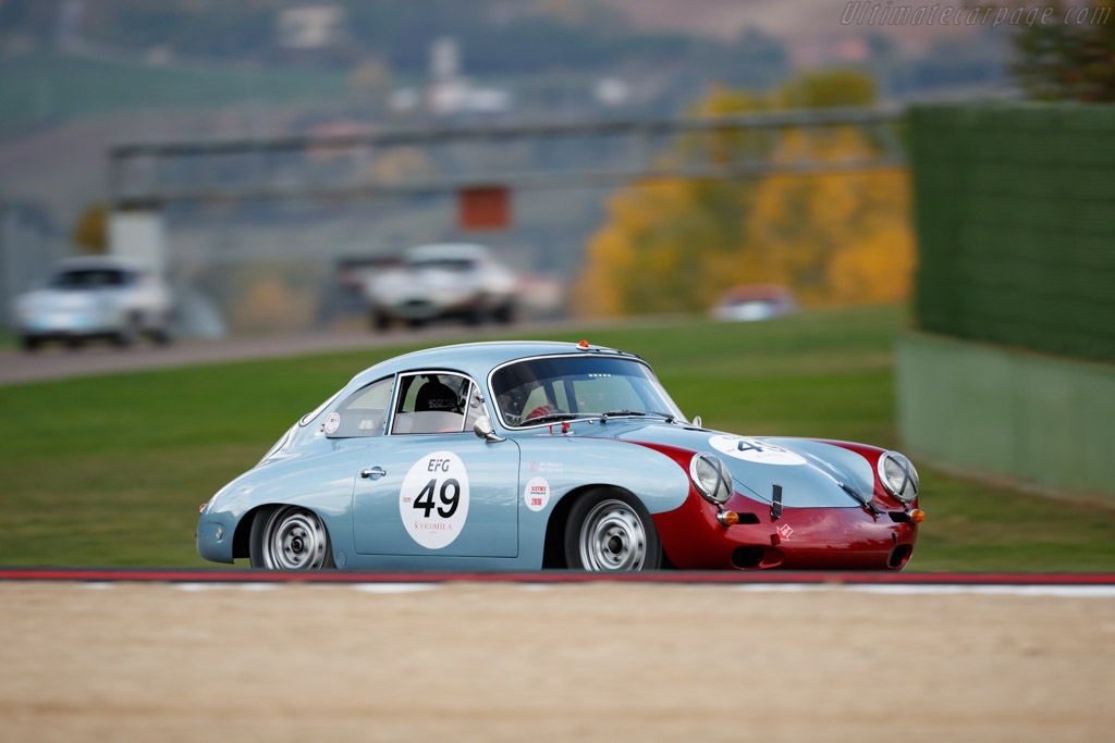 Porsche 356 SC - Chassis: 131928 - Driver: Bill Stephens / Will Stephens - 2018 Imola Classic