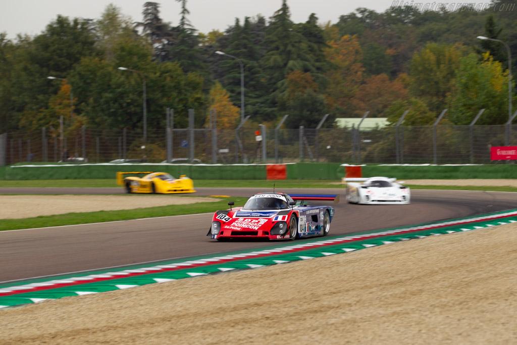 Spice SE89C - Chassis: SE89C-002 - Driver: Philippe Scemama / Nigel Greensall  - 2018 Imola Classic
