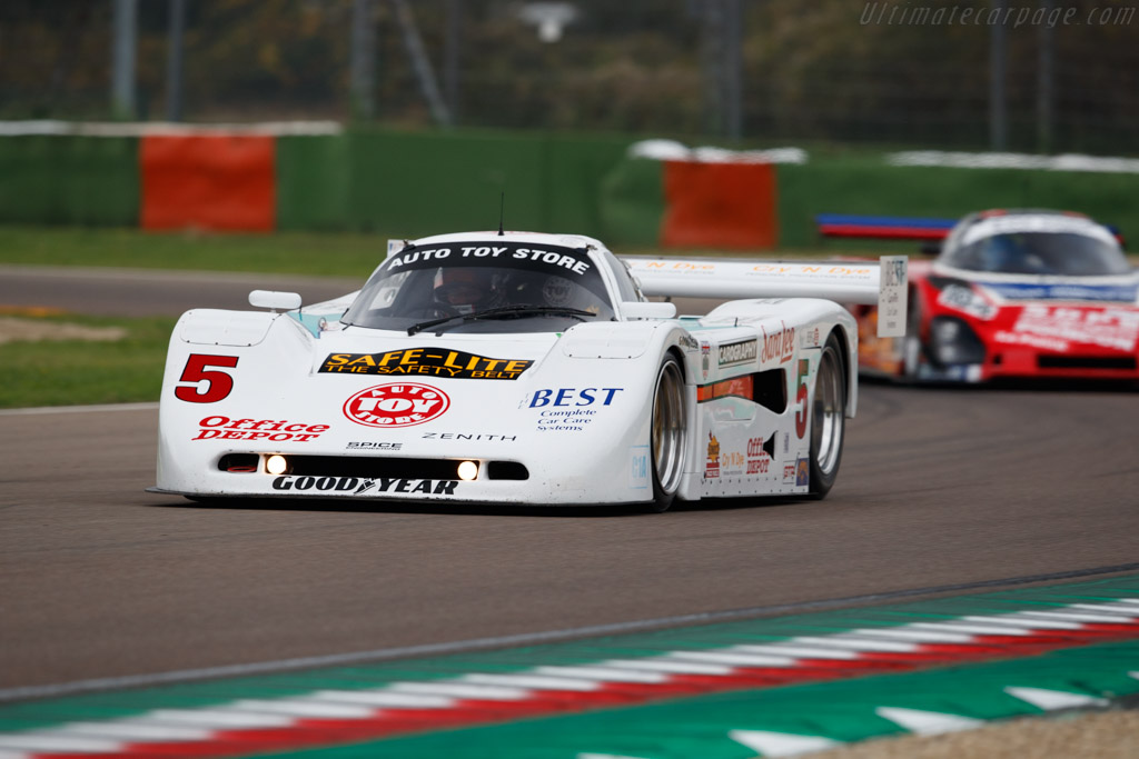 Spice SE90P - Chassis: SE90P-013 - Driver: Steve Tandy  - 2018 Imola Classic