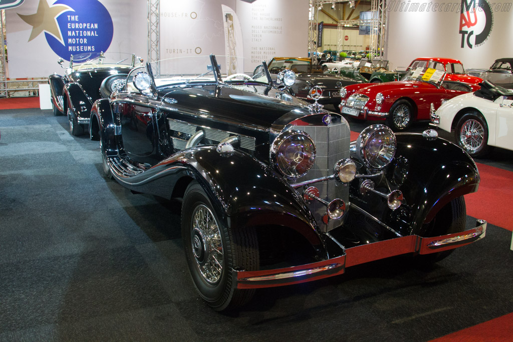 Mercedes-Benz 500K Spezial Roadster    - 2017 Interclassics Brussels