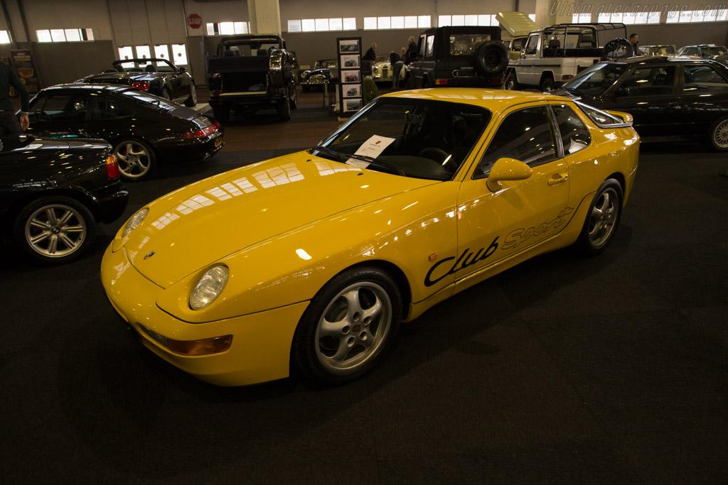 Porsche 968 Club Sport    - 2017 Interclassics Brussels