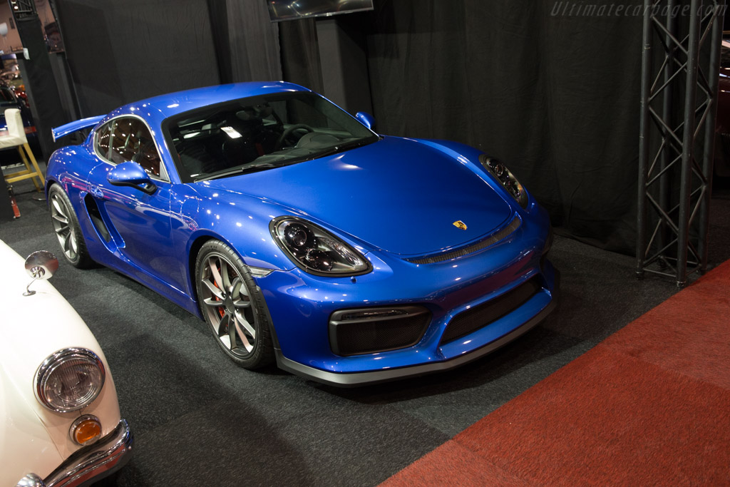 Porsche Cayman GT4    - 2017 Interclassics Brussels