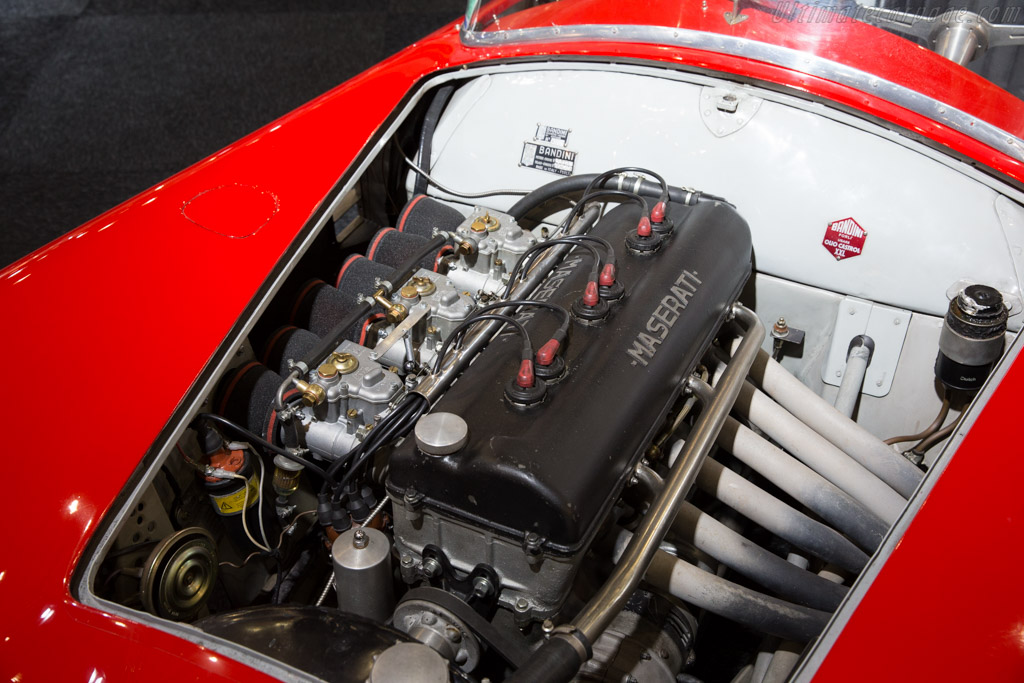 Bandini Maserati - Chassis: 002   - 2015 Interclassics Brussels