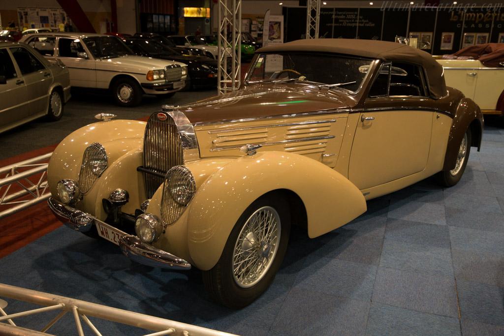 Bugatti Type 57 Stelvio Gangloff - Chassis: 57826   - 2015 Interclassics Brussels