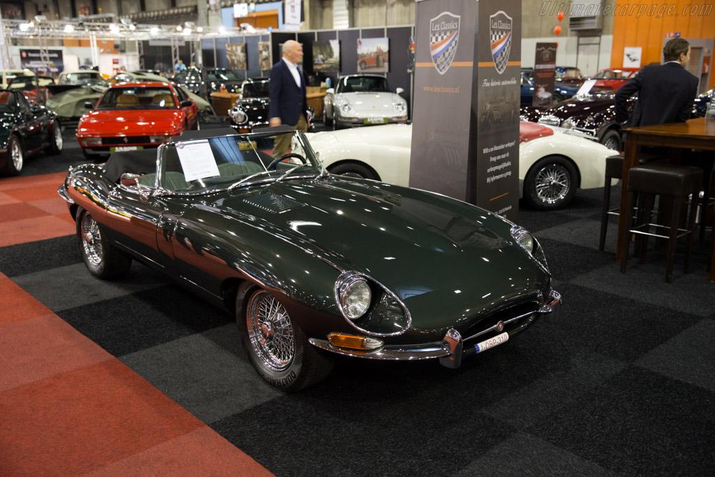 Jaguar E-Type    - 2015 Interclassics Brussels