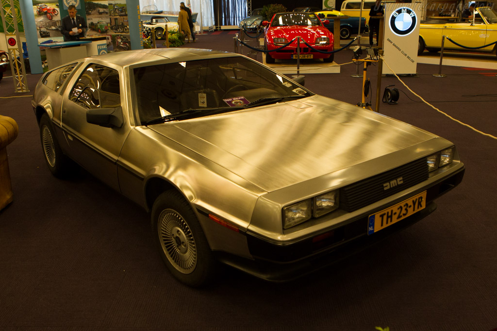 DeLorean DMC 12    - 2014 Interclassics and Topmobiel