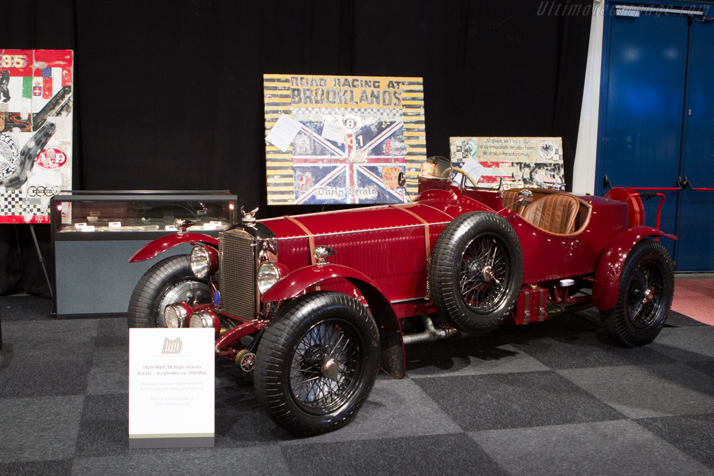 Invicta 4.5 Litre High Chassis    - 2014 Interclassics and Topmobiel