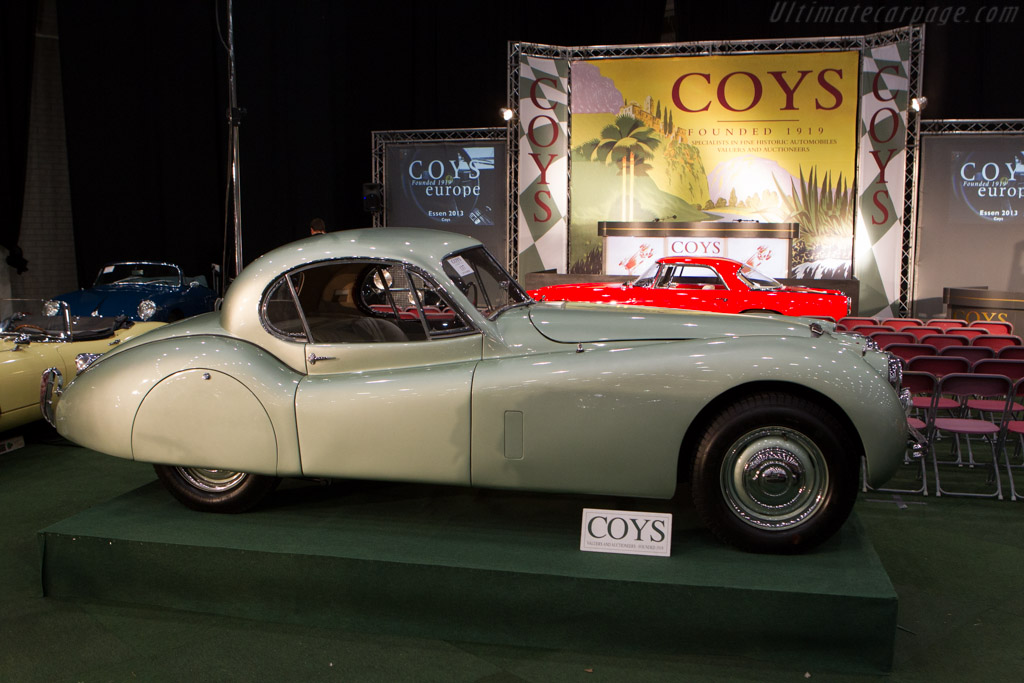 Jaguar XK120 Coupe - Chassis: 680421   - 2014 Interclassics and Topmobiel
