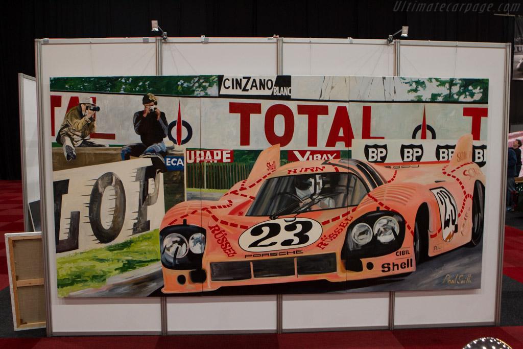 Porsche Pink Pig Art    - 2014 Interclassics and Topmobiel