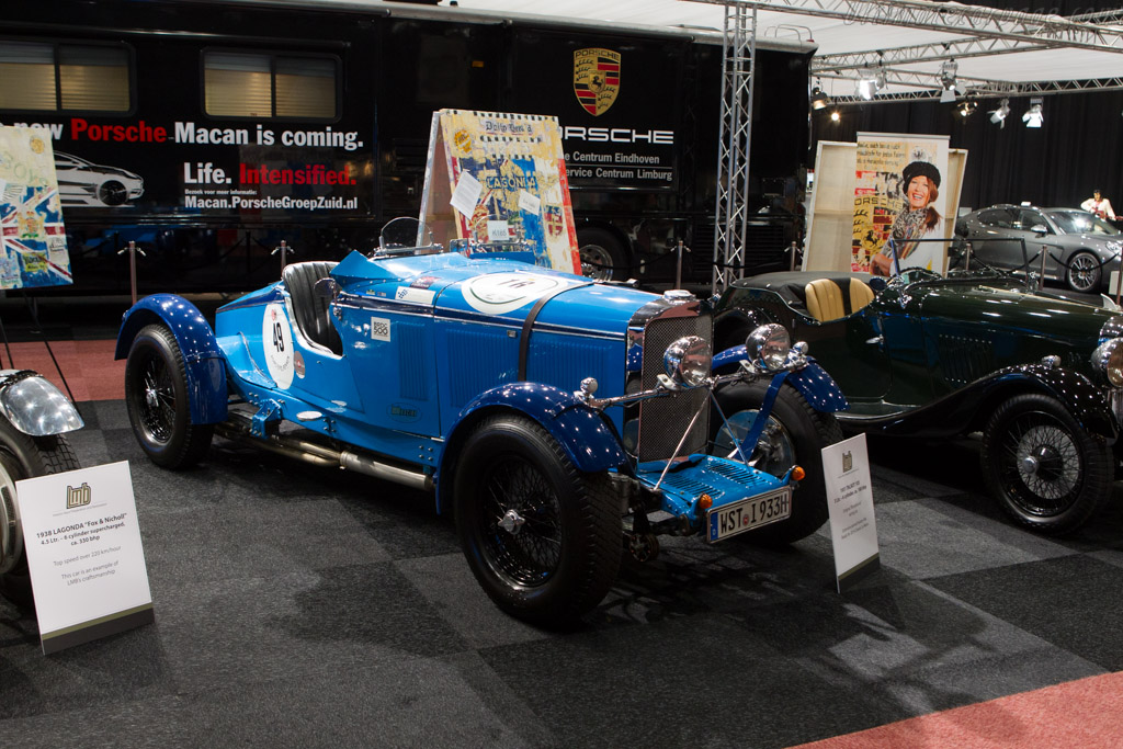 Talbot 105    - 2014 Interclassics and Topmobiel