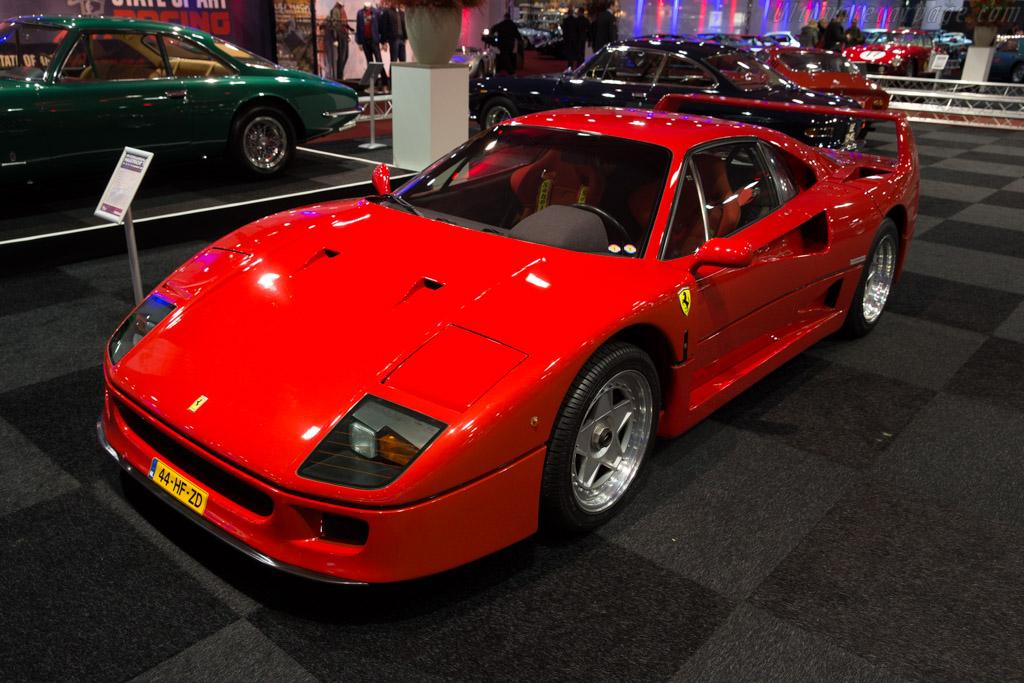 Ferrari F40 - Chassis: 89768   - 2017 Interclassics Maastricht