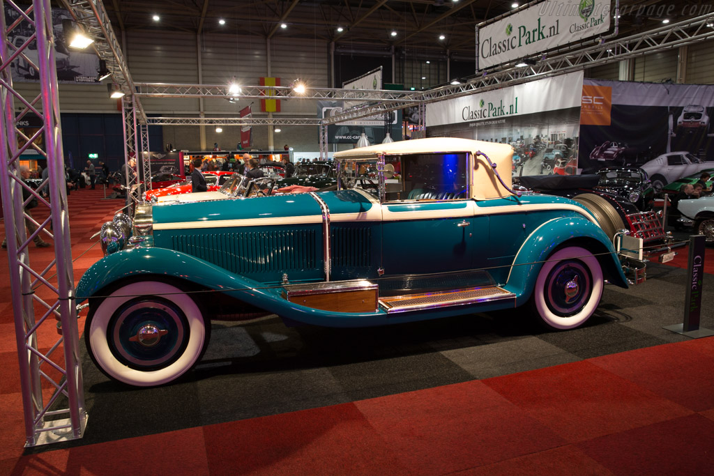 Isotta Fraschini 8A Castagna Roadster - Chassis: 1485   - 2017 Interclassics Maastricht