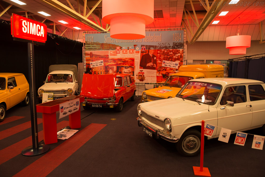 Simca Club Nederland    - 2017 Interclassics Maastricht