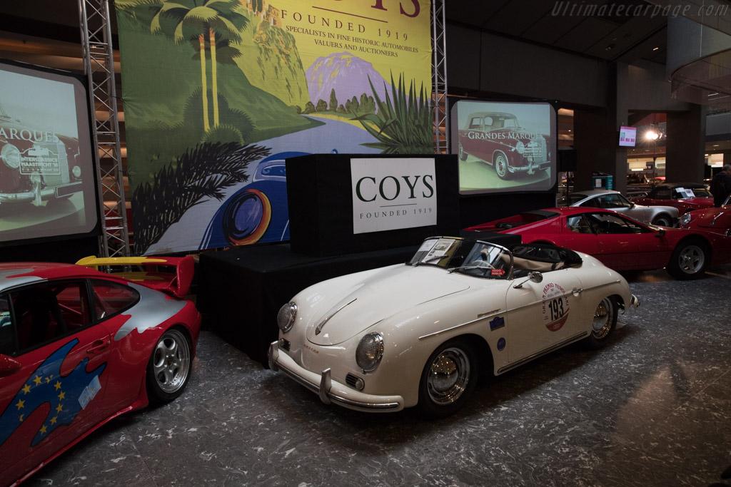 Porsche 356A Speedster - Chassis: 82371   - 2018 Interclassics Maastricht