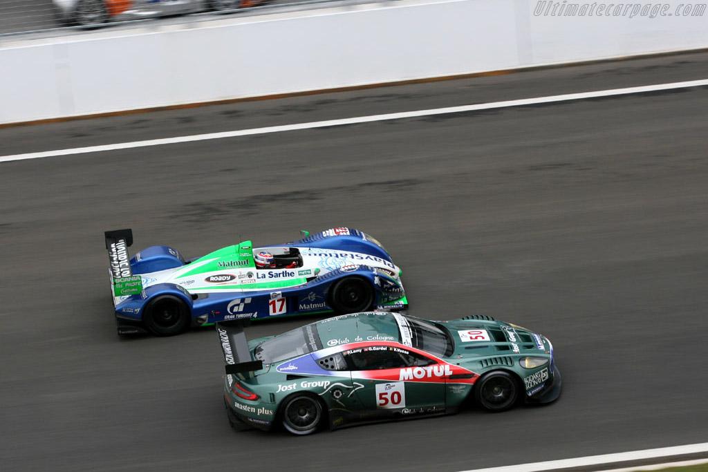 Aston Martin DBR9 - Chassis: DBR9/1   - 2006 Le Mans Series Istanbul 1000 km