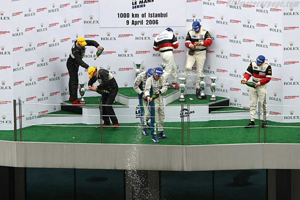 Champagne !!    - 2006 Le Mans Series Istanbul 1000 km