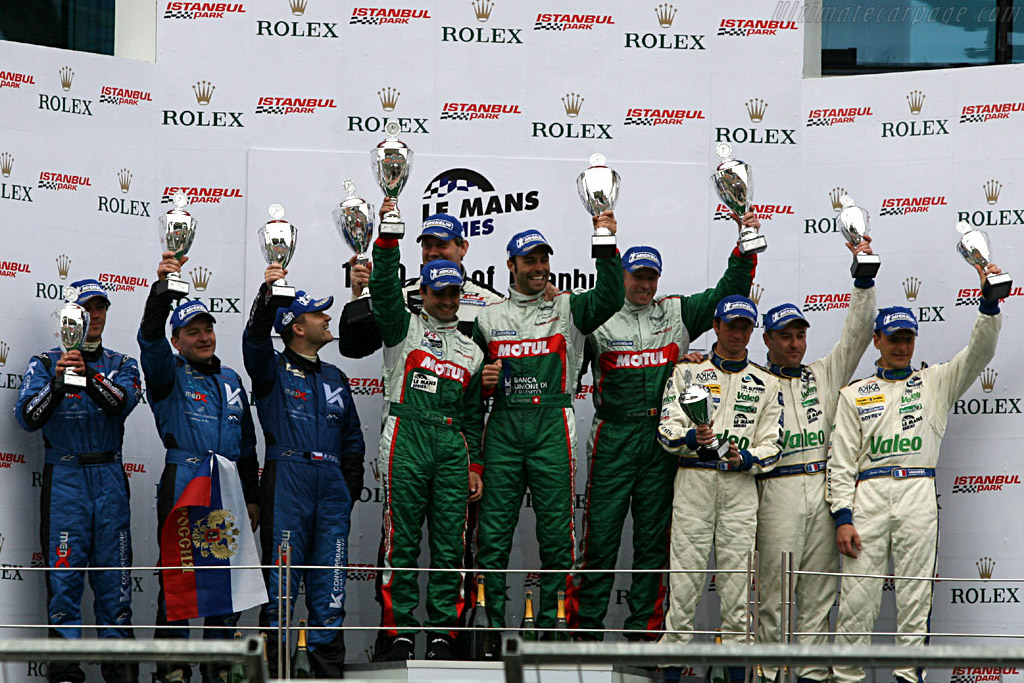 Podium GT1    - 2006 Le Mans Series Istanbul 1000 km