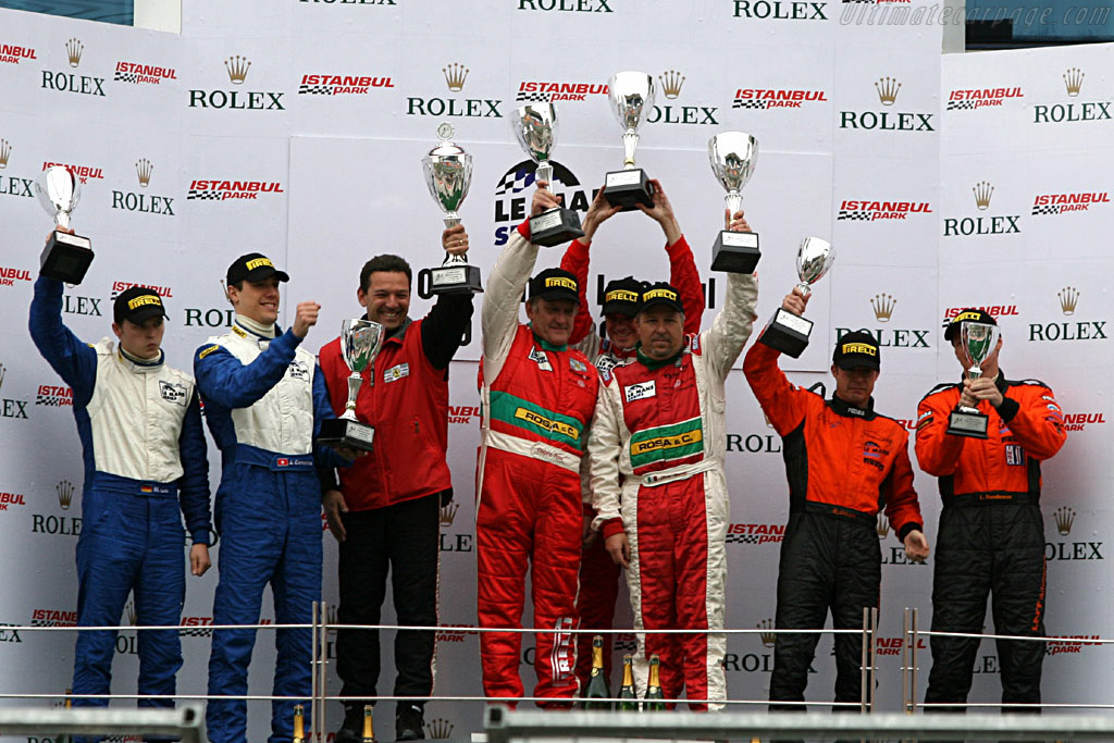 Podium GT2    - 2006 Le Mans Series Istanbul 1000 km