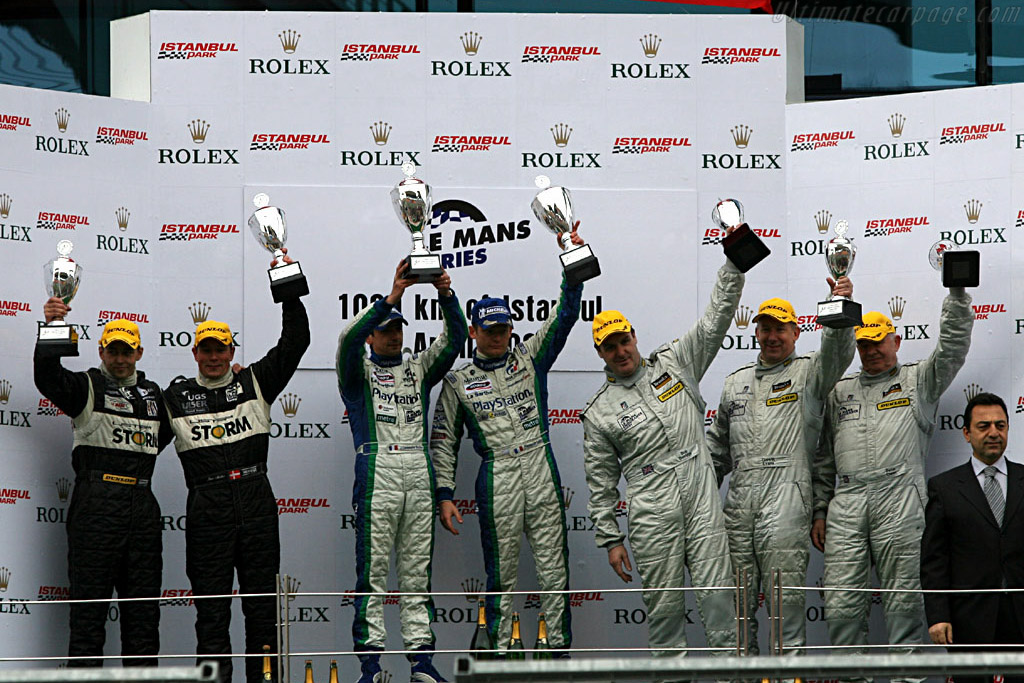 Podium LMP1    - 2006 Le Mans Series Istanbul 1000 km