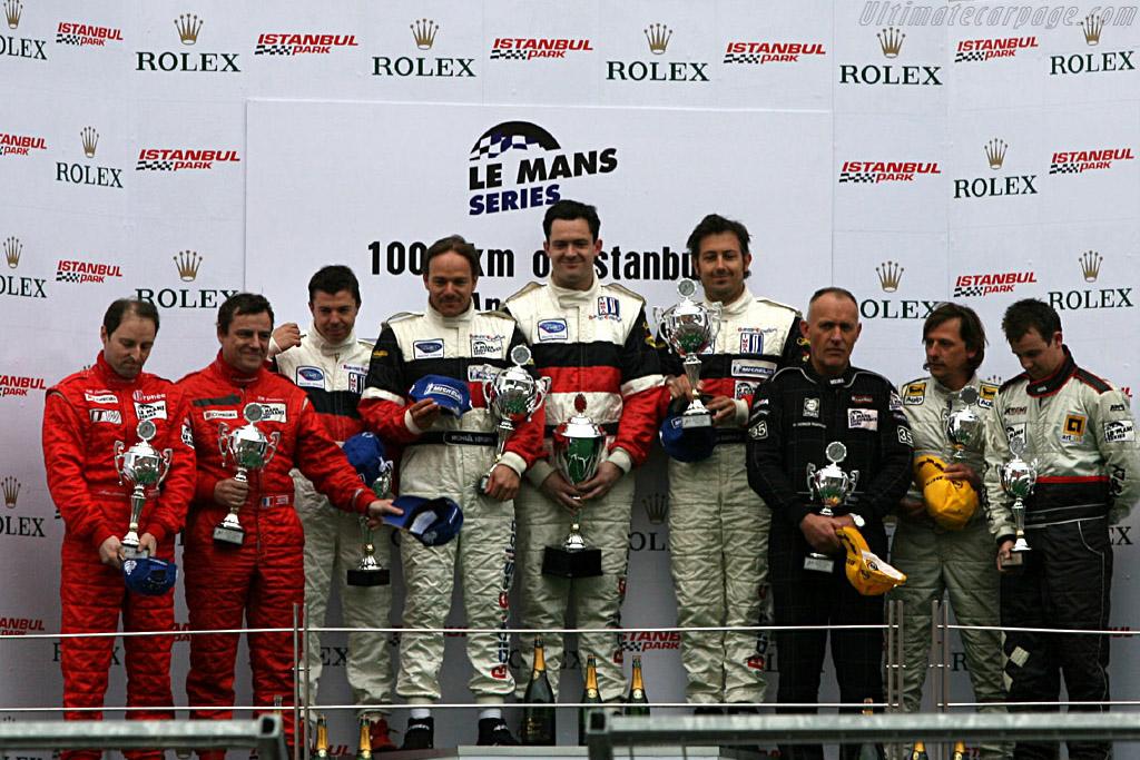 Podium LMP2    - 2006 Le Mans Series Istanbul 1000 km