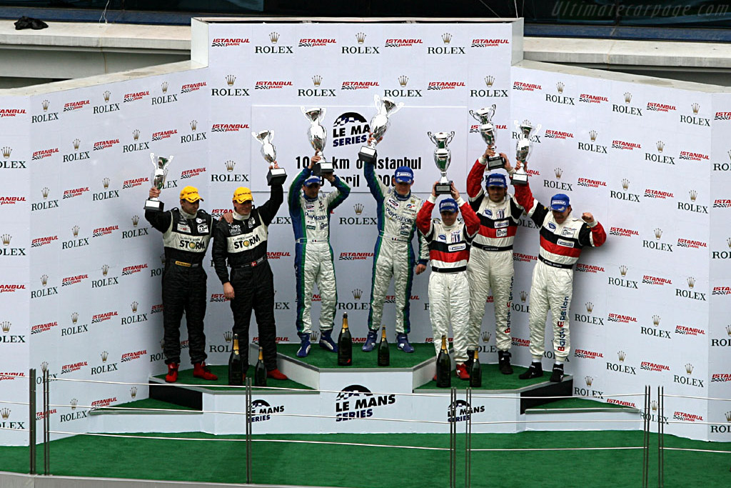 Podium Overall    - 2006 Le Mans Series Istanbul 1000 km