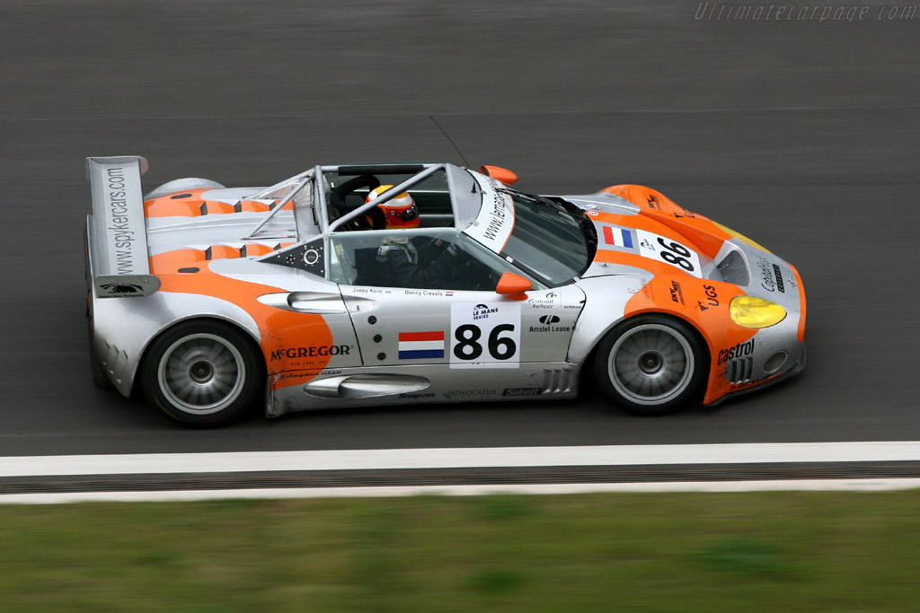 Spyker C8 Spyder GT2R - Chassis: XL9CD31G55Z363046   - 2006 Le Mans Series Istanbul 1000 km