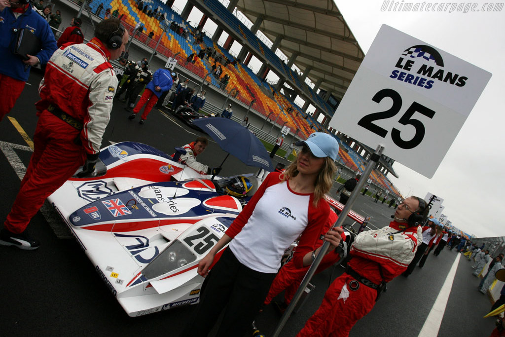The grid - Chassis: B0540-HU05   - 2006 Le Mans Series Istanbul 1000 km