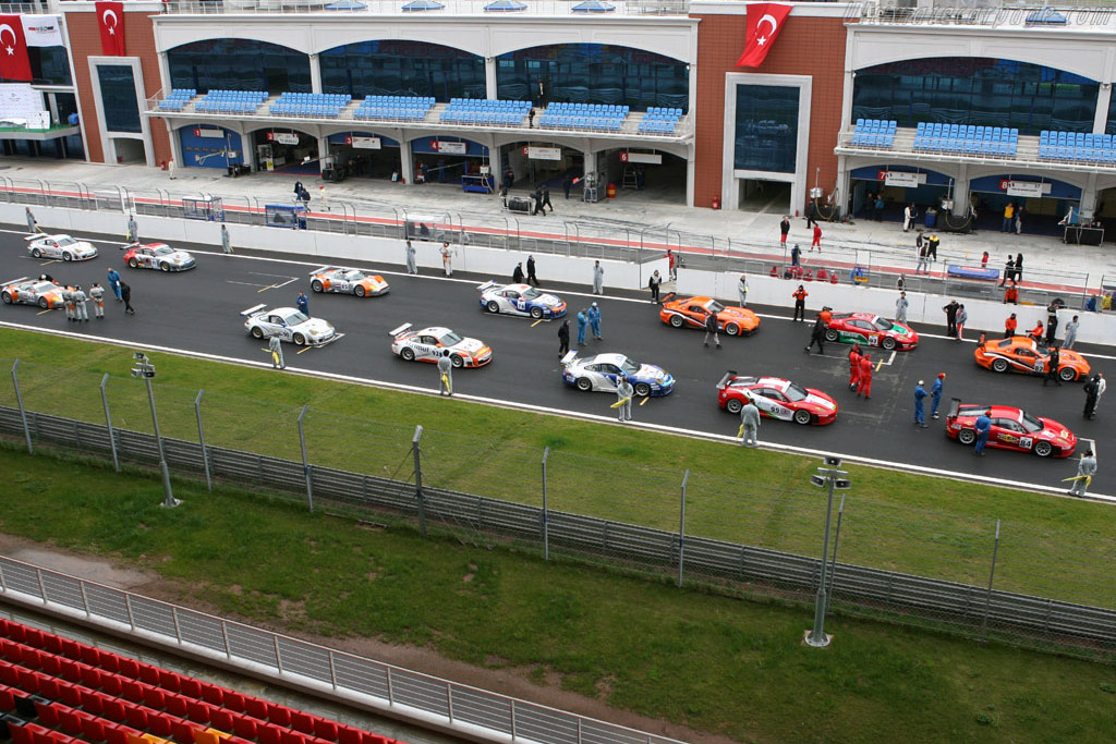The grid    - 2006 Le Mans Series Istanbul 1000 km