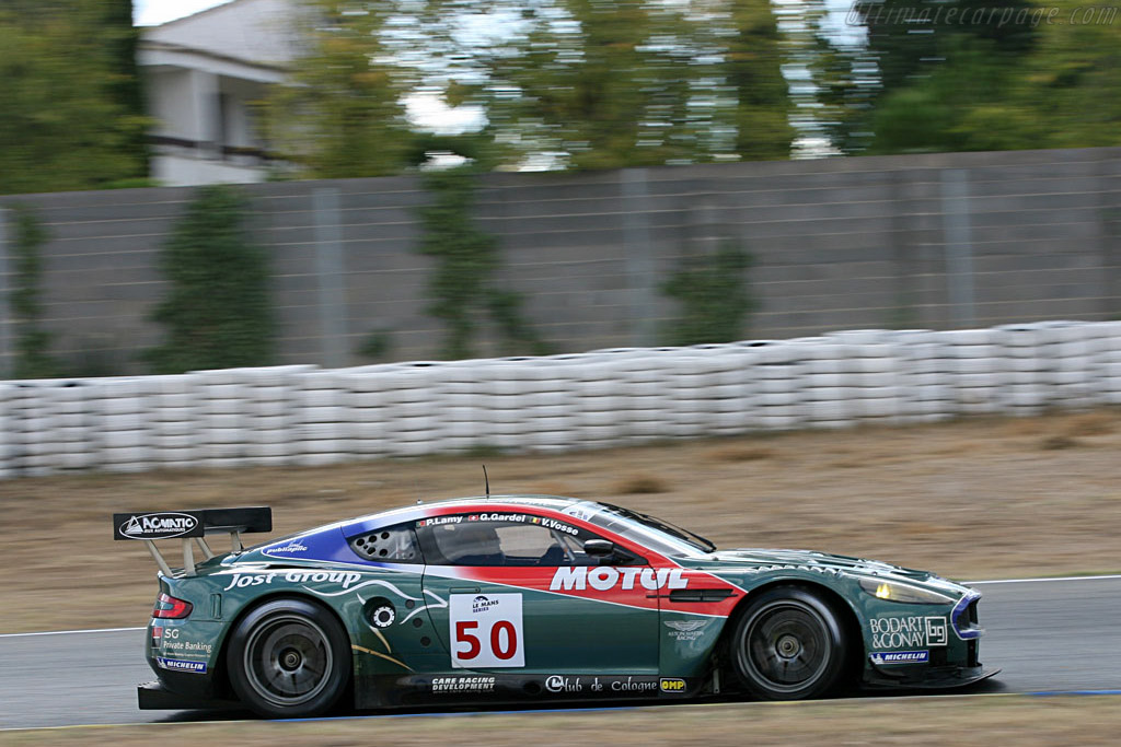 Aston Martin DBR9 - Chassis: DBR9/1 - Entrant: Aston Martin Larbre  - 2006 Le Mans Series Jarama 1000 km