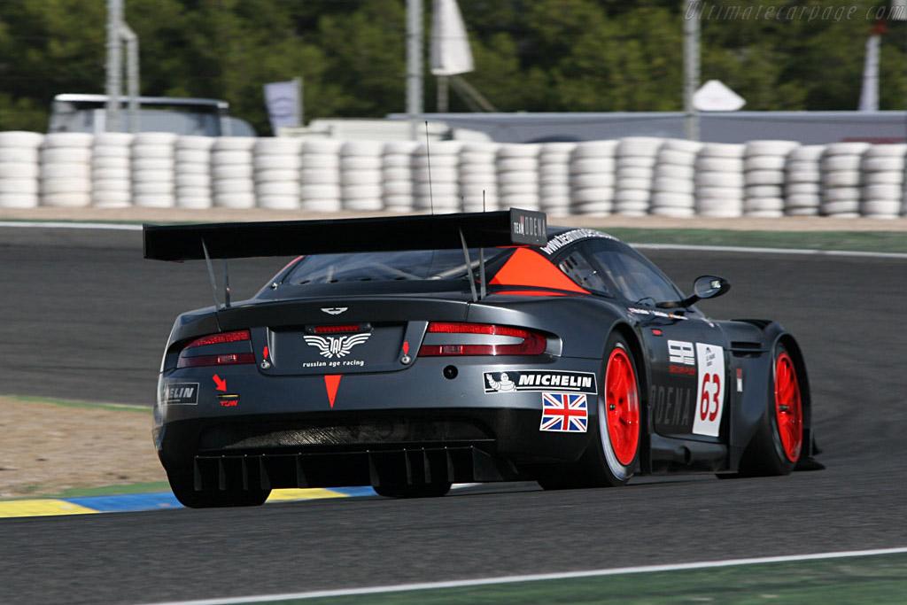 Aston Martin DBR9 - Chassis: DBR9/4 - Entrant: Team Modena  - 2006 Le Mans Series Jarama 1000 km
