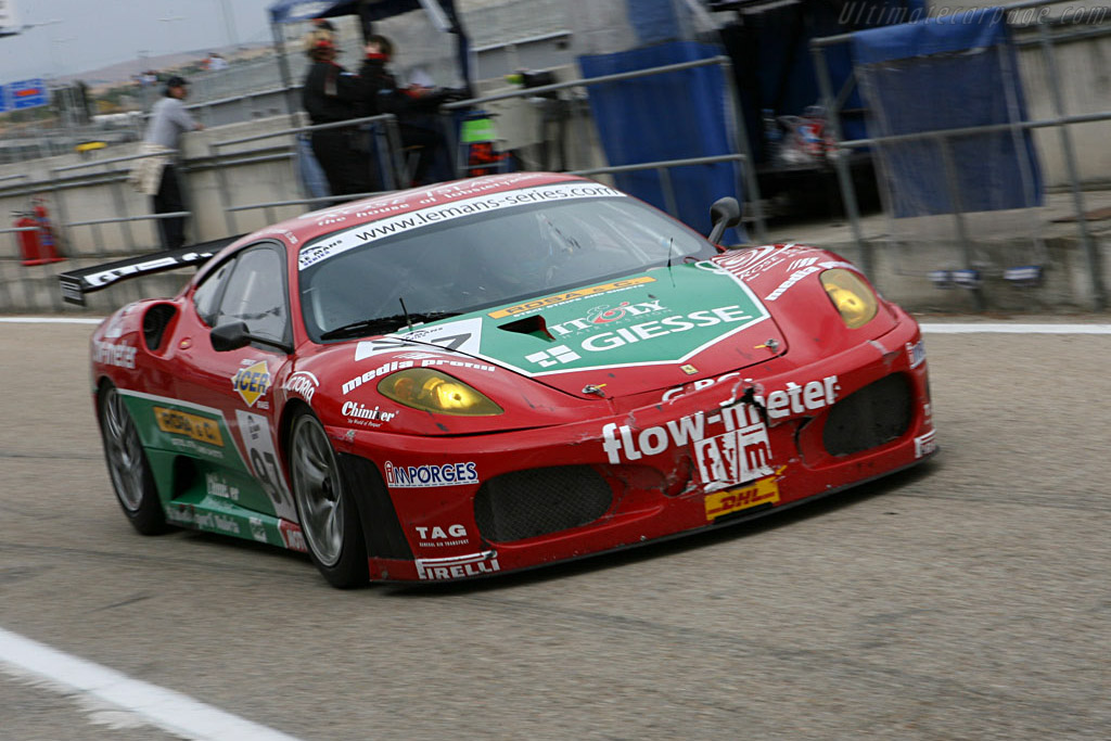 Battle scars - Chassis: 2402 - Entrant: GPC Sport  - 2006 Le Mans Series Jarama 1000 km