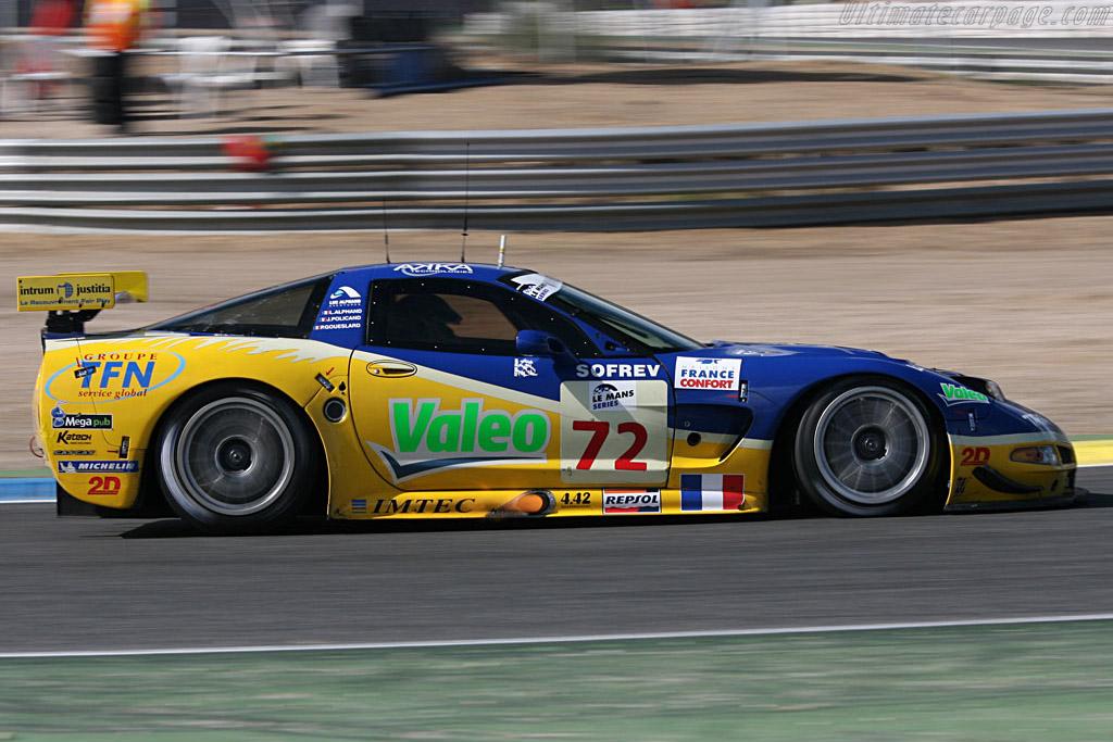 Chevrolet Corvette C5-R - Chassis: 010 - Entrant: Luc Alphand Adventures  - 2006 Le Mans Series Jarama 1000 km