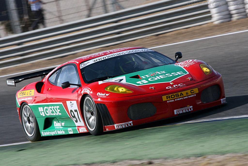 Ferrari F430 GTC - Chassis: 2402 - Entrant: GPC Sport  - 2006 Le Mans Series Jarama 1000 km