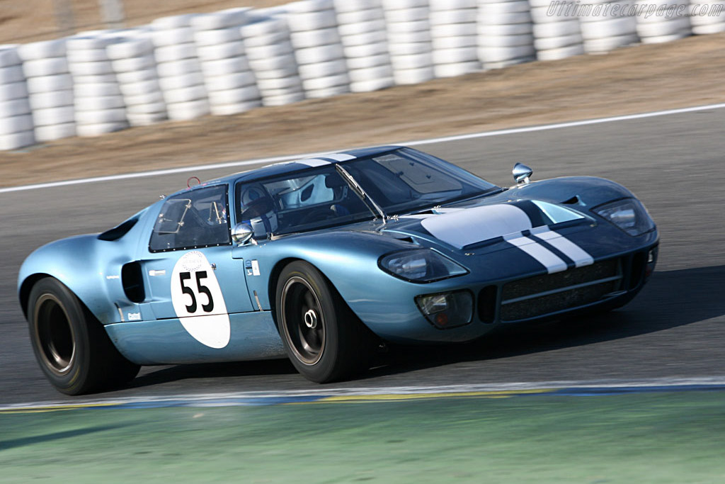 Ford GT40 - Chassis: GT40P/1078 - Driver: Claude Nahum  - 2006 Le Mans Series Jarama 1000 km