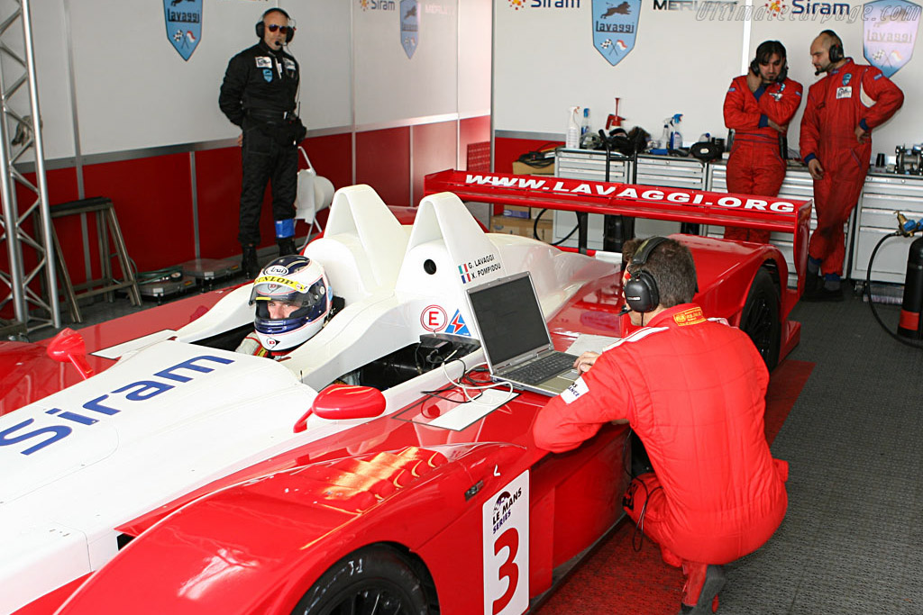 Frustrating 28 laps and 17 pit stops - Chassis: 1 - Entrant: Lavaggi Sport  - 2006 Le Mans Series Jarama 1000 km