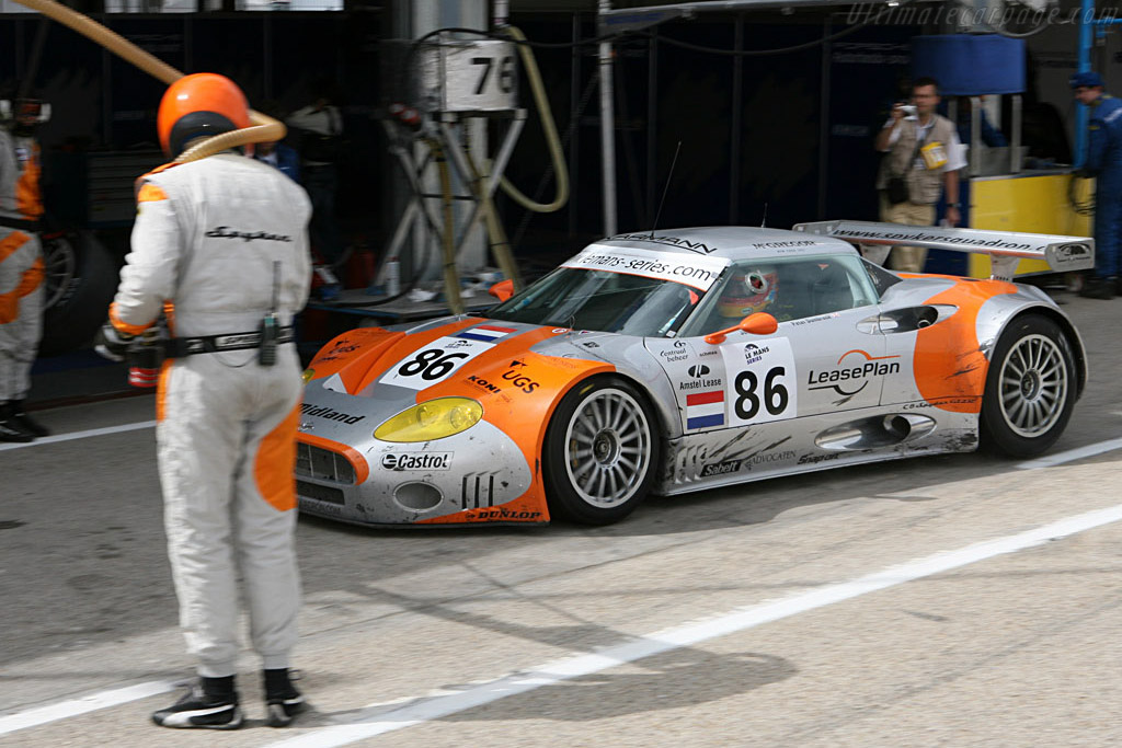 Incoming! - Chassis: XL9CD31G55Z363046 - Entrant: Spyker Squadron  - 2006 Le Mans Series Jarama 1000 km