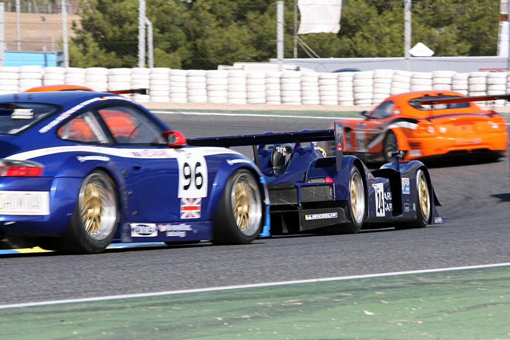 Lola B05/40 Zytek - Chassis: B0540-HU02 - Entrant: Binnie Motorsports  - 2006 Le Mans Series Jarama 1000 km