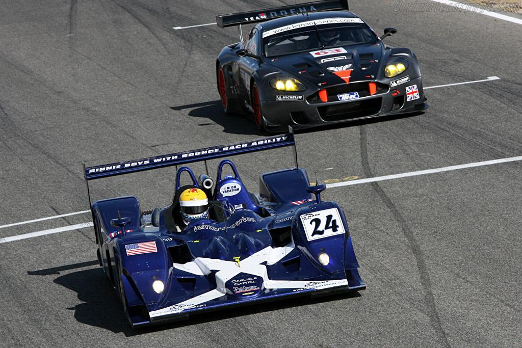 Off they go - Chassis: B0540-HU02 - Entrant: Binnie Motorsports  - 2006 Le Mans Series Jarama 1000 km
