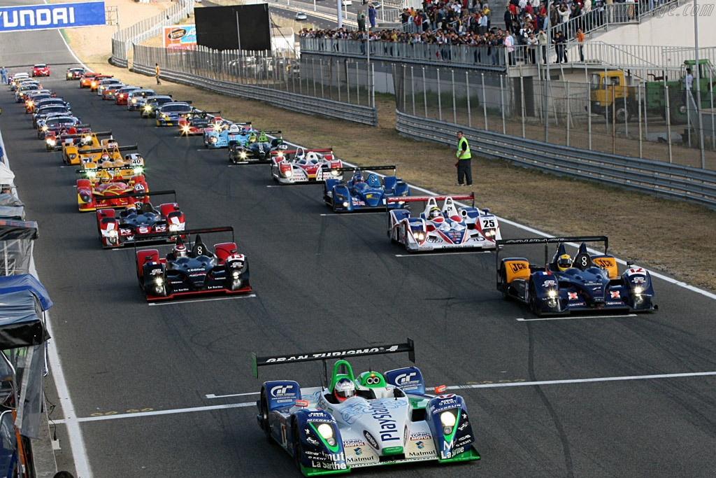 Off they go - Chassis: 4 - Entrant: Pescarolo Sport  - 2006 Le Mans Series Jarama 1000 km