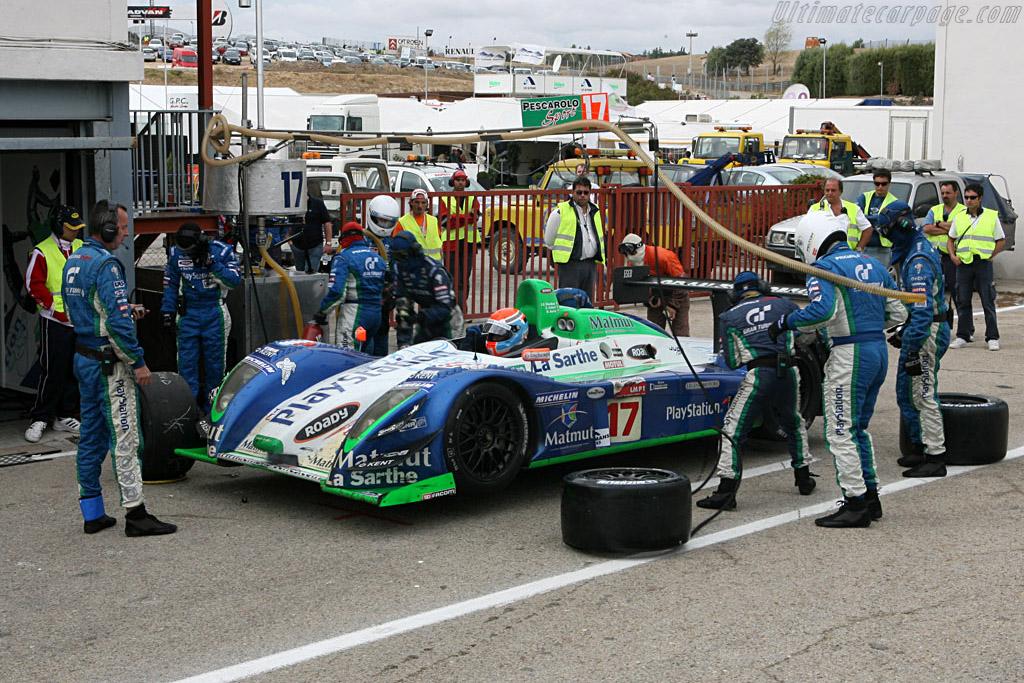 Pesca Pit Perfection - Chassis: 4 - Entrant: Pescarolo Sport  - 2006 Le Mans Series Jarama 1000 km