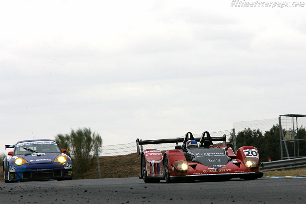 Pilbeam MP93 - Chassis: 01 PB - Entrant: Pierre Bruneau  - 2006 Le Mans Series Jarama 1000 km