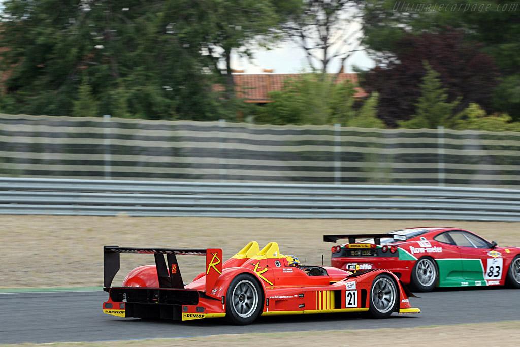 Radical SR9 AER - Chassis: SR9002 - Entrant: van Merksteijn Motorsport  - 2006 Le Mans Series Jarama 1000 km