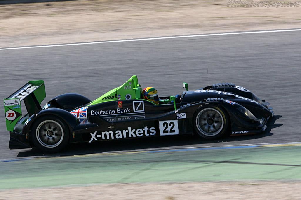 Radical SR9 Judd - Chassis: SR9001 - Entrant: Rollcentre Racing  - 2006 Le Mans Series Jarama 1000 km