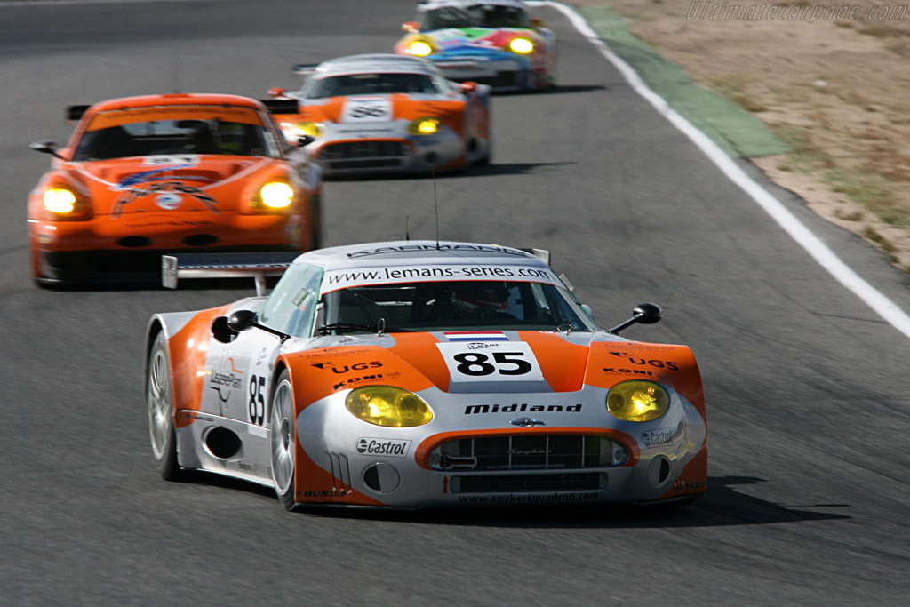 Spyker C8 Spyder GT2R - Chassis: XL9GB11HX50363097 - Entrant: Spyker Squadron  - 2006 Le Mans Series Jarama 1000 km