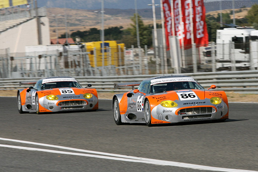 Spyker C8 Spyder GT2R - Chassis: XL9CD31G55Z363046 - Entrant: Spyker Squadron  - 2006 Le Mans Series Jarama 1000 km